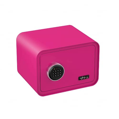 Tresor mit Code- mySafe 350 Pink